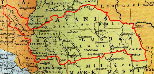 Margrabia Hodo panował w Marchii Łużyckiej – daleko od domniemanego miejsca bitwy pod Cedynią.