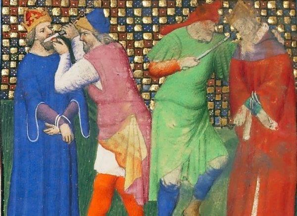 Okaleczenie przez obcięcie języka i nosa było w Cesarstwie Bizantyjskim popularną metodą karania obalonych władców.