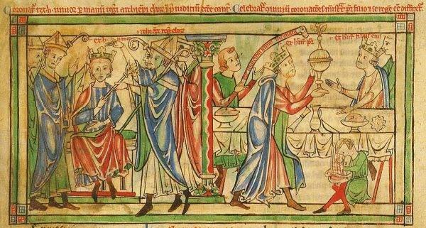 """W 1170 roku Henryk II postanowił koronować swojego syna, piętnastoletniego Henryka zwanego """"Młodym Królem"""""""