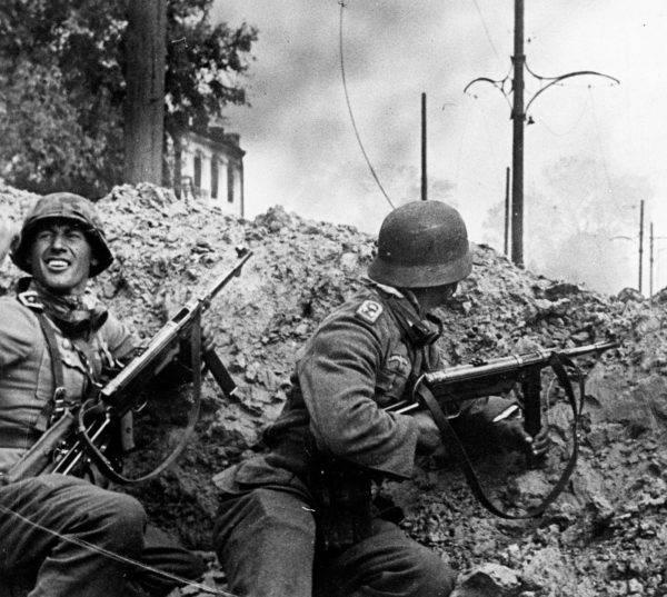 Niemieccy żołnierze na froncie wschodnim