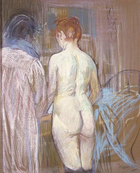Prostytutki, Henri de Toulouse-Lautrec