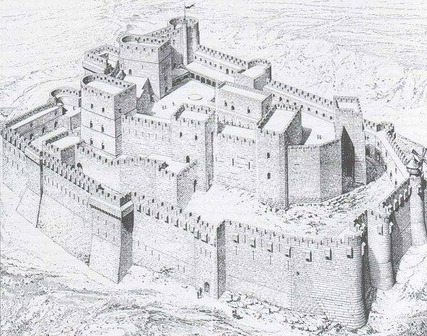 W czasie periodycznej służby w straży zamkowej i w okresach zagrożenia wojną rycerze znowu zamieszkiwali wspólnie w zamkach.