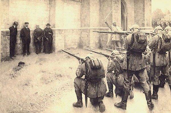 Przemarsz wojsk niemieckich przez Belgię w sierpniu 1914 roku pozostawiał ślady, od jakich Europa – mimo tylu wojen w swojej historii – już odwykła.