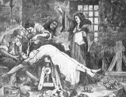 Gdy latem 1676 roku Marie-Madeleine Gobelin, znaną jako markizę de Brinvilliers, poddawano torturom w związku ze śmiercią jej ojca, dwóch braci oraz kochanka, nikt w Paryżu nie spodziewał się, jakie konsekwencje przyniosą jej zeznania.