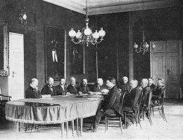 Ostatnie posiedzenie Magistratu Warszawy z udziałem prezydenta Sokrata Starynkiewicza
