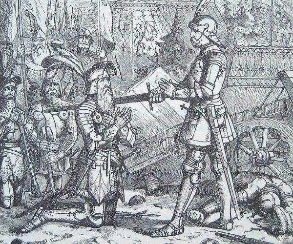 Miecz był na ogół prezentem wręczanym młodemu rycerzowi przez jego patrona.