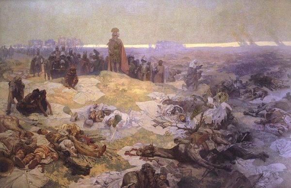 Zanim Litwini ramię w ramię z Polakami stanęli do walki z Krzyżakami pod Grunwaldem (na il.), przez dziesięciolecia nękali państwo Piastów krwawymi najazdami.