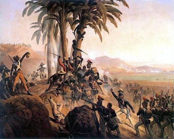 Po pokoju w Lunéville Legioniści stali się dla Napoleona sporym problemem, jako że byli jawnie antyaustriaccy. Postanowił więc wysłać ich na Karaiby, gdzie mieli tłumić dążenia niepodległościowe Haitańczyków.