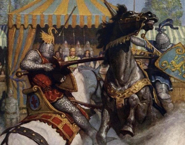 Turnieje, zwłaszcza te w XI wieku, bardzo przypominały, przynajmniej z perspektywy rycerzy, prawdziwe batalie.