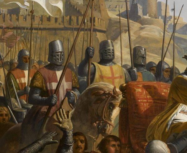 W czasie krucjaty zorganizowanej przez króla Francji Ludwika IX Świętego, ostatniej wielkiej wyprawy krzyżowej (1248–1252), zakony rycerskie uczestniczyły w typowych dla siebie rolach: jako żołnierze, dyplomaci i bankierzy.