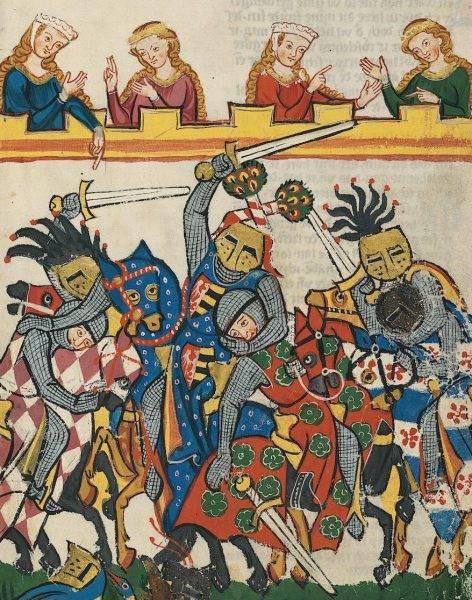 """Razem z """"Młodym Królem"""" odwiedzali turnieje, podczas których Wilhelm podsuwał mu rozmaite strategie i dbał, by władcy nie spadł włos z głowy."""