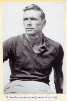 Jerzy Iwanow Szajnowicz na krótko przed rozpoczęciem wojny, 1939.