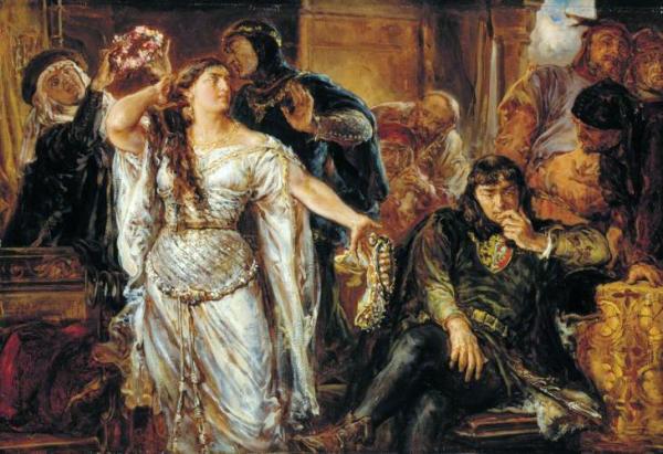Pod koniec lat 80. XIII wieku Piastom udało się przytemperować nieco temperament barbarzyńców. Zasługi w wojnach z poganami miał książę małopolski Leszek Czarny.