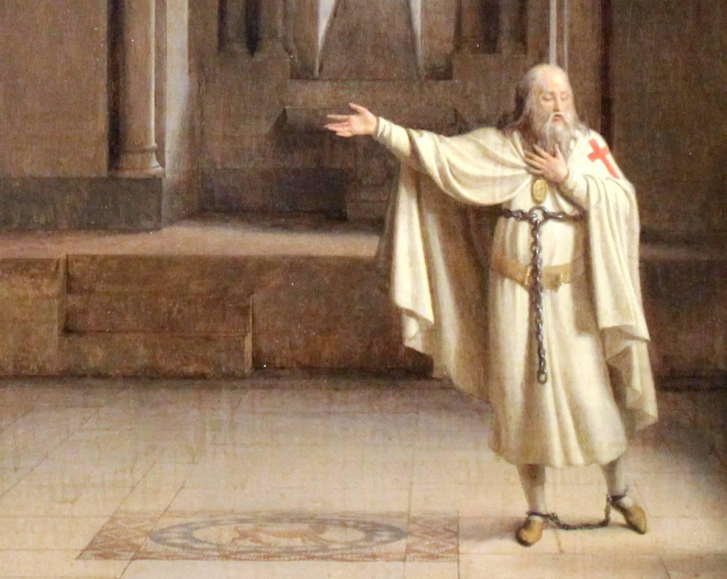 """W oczach Kościoła ci rycerze-zakonnicy byli rzeczywistymi """"żołnierzami Chrystusa"""", ucieleśnieniem prawdziwej rycerskości."""