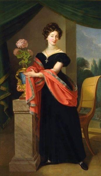 Portret Zofii z Jabłonowskich Fredro z 1824 roku