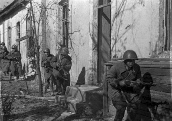 Rosjanie pod Stalingradem