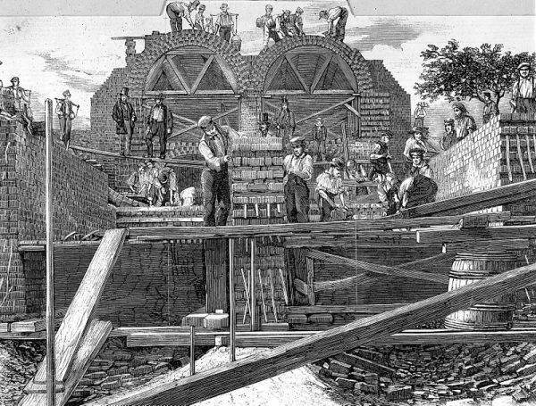 Prace nad nowym systemem kanalizacyjnym