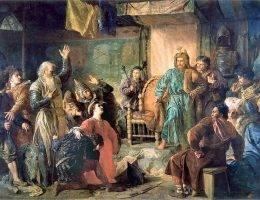 W krwawych litewskich najazdach na Polskę brał udział m.in. książę Witold oraz Jagiełło, który później zasiadł na tronie naszego kraju.