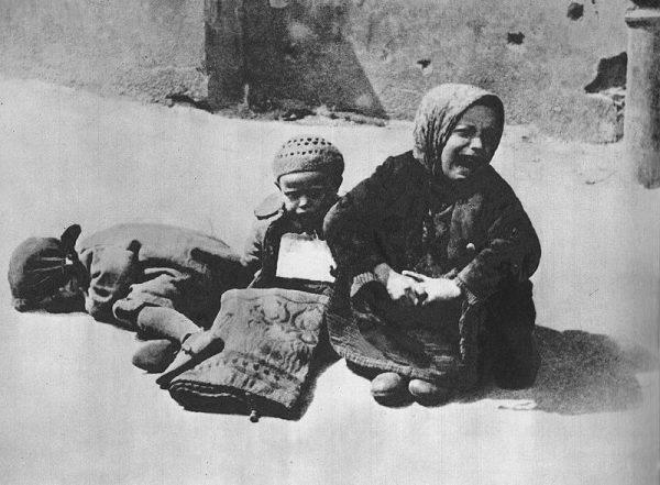 Bezdomne dzieci w getcie