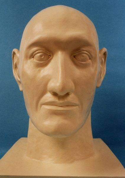 Rekonstrukcja twarzy gigantki