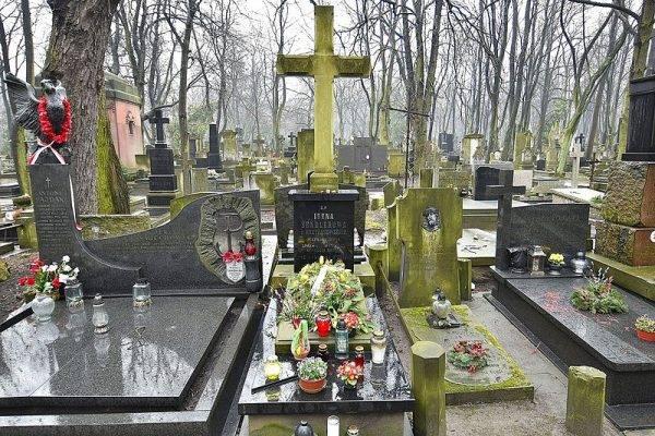 Grób Ireny Sendlerowej na cmentarzu Powązkowskim w Warszawie