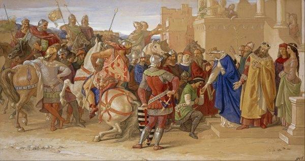 Początkowo rycerze w żaden sposób nie przypominali wyidealizowanej wersji rodem z legend arturiańskich.