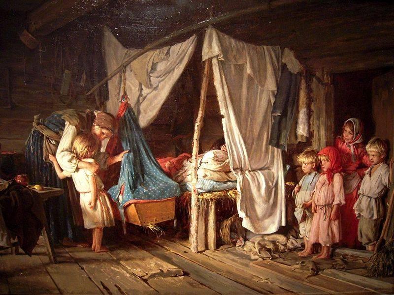 Ciążę traktowano jako obowiązek małżeński. Duża umieralność w dawnych czasach, a także ogromna ilość pracy w gospodarstwie sprawiały, że niezwykłą wagę przywiązywano do liczebności rodziny.