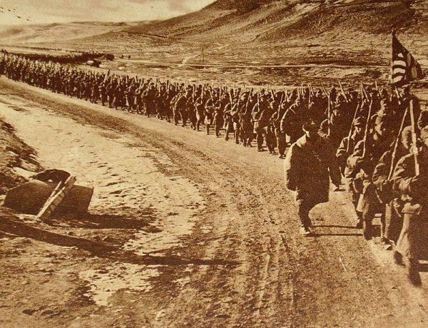 Amerykańskie wojska zaczęły przybywać do Europy pod koniec 1917 roku, ale większość oddziałów przerzucono w roku 1918. W ostatniej fazie konfliktu.