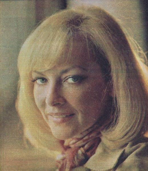 Barbara Brylska w 1978 roku