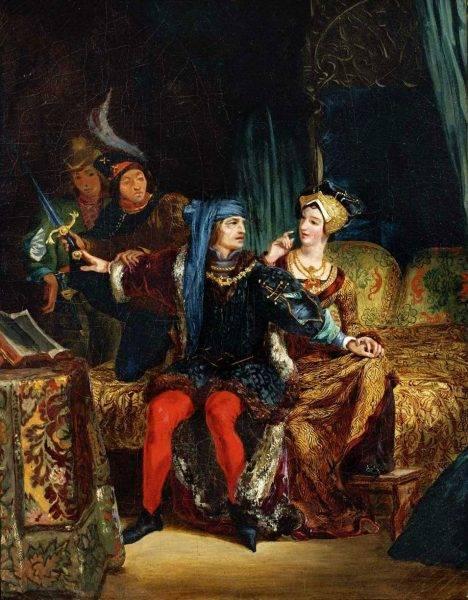Oficjalnie państwem rządził chory na schizofrenię Karol IV Szalony. W rzeczywistości ster władzy dzierżyła jego żona Izabela Bawarska, nazywająca siebie regentką.