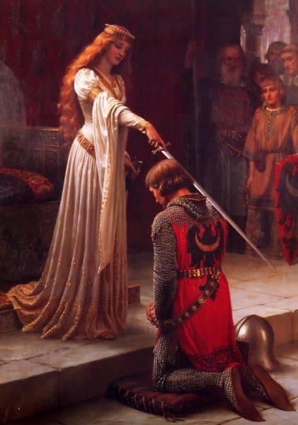 Ostatnim elementem było tradycyjne uderzenie colée, w ramię lub głowę, które miało spowodować, że pasowany na zawsze zapamięta tego, który wprowadził go w szeregi elitarnych wojowników.