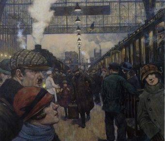 Za sprawą polskich zamachowców na dworcach kolejowych w Berlinie zaczęły wybuchać bomby