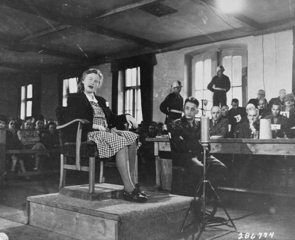 """SS-Aufseherin Ilse Koch, znana pod przezwiskiem """"Suka z Buchenwaldu"""""""