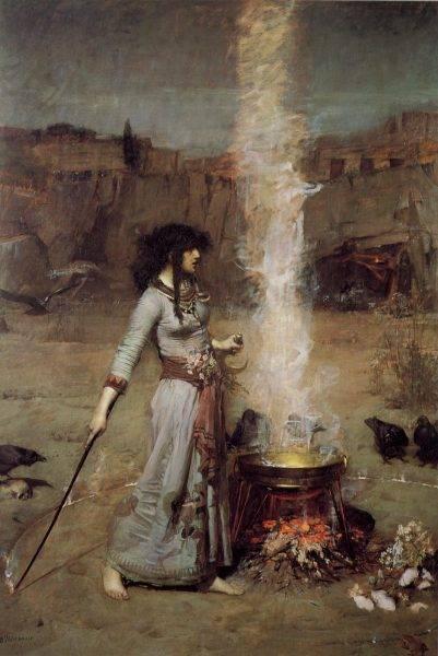 Kobiety piły także różne napary i odwary, które w magiczny sposób miały zapewnić im ochronę.