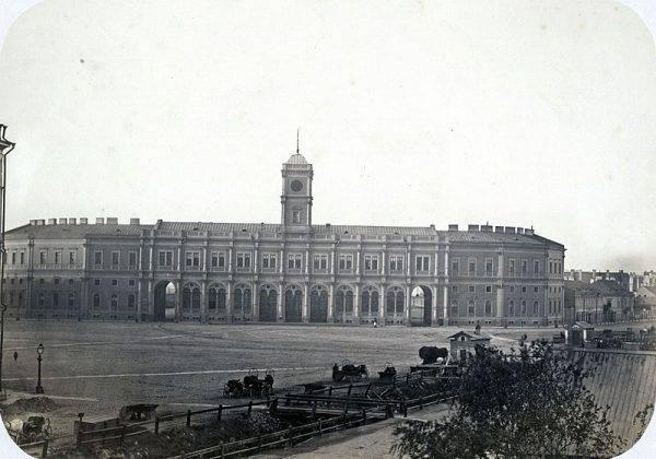 Dworzec Mikołajewski w Petersburgu