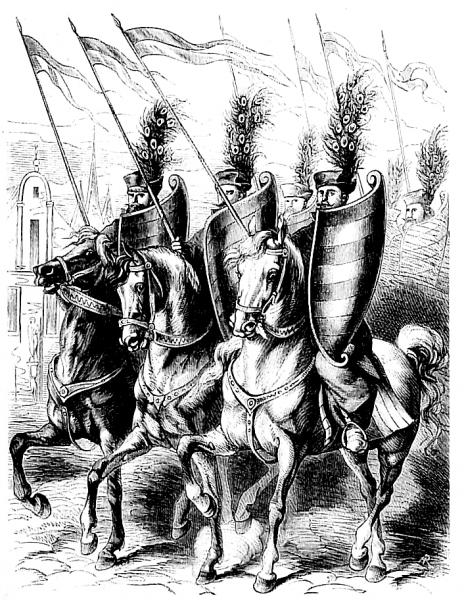Raców nazywano także husarzami. Historycy wojskowości próbują wyznaczyć granicę między tymi pojęciami.