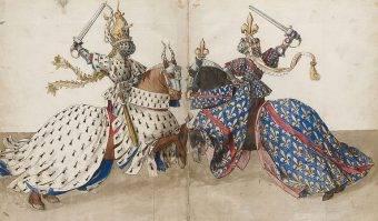 Pojedynki w szrankach stały się wręcz nieodzownym elementem życia rycerskiego