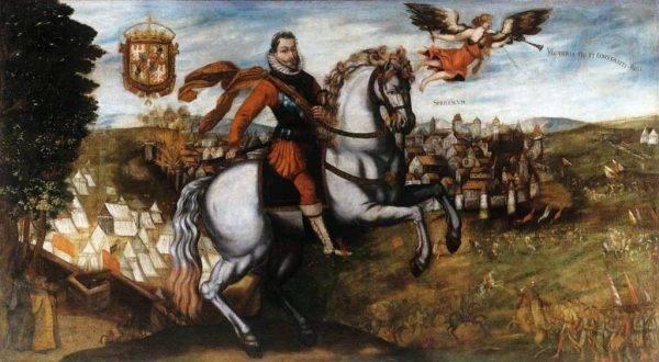 Zygmunt III Waza pod Smoleńskiem