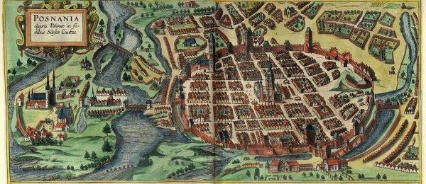 Poznań w I poł. XVII wieku.