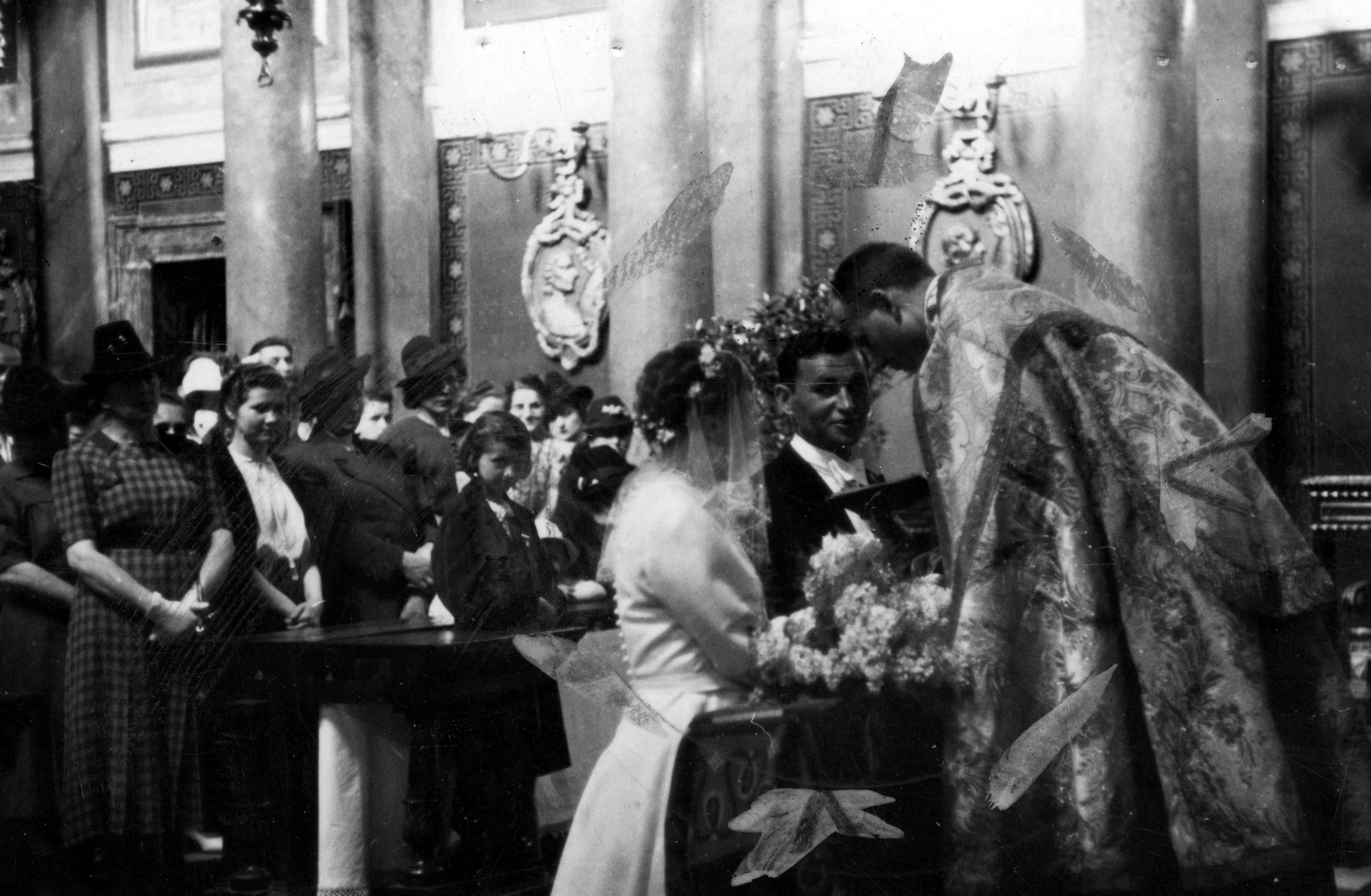 """Gestapo na ślubie – największa """"wsypa"""" Armii Krajowej (zdj. poglądowe)."""