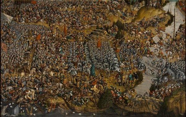 Obraz Bitwa pod Orszą