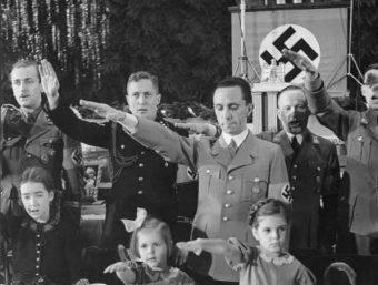 Joseph Goebbels był prawą ręką Adolfa Hitlera.