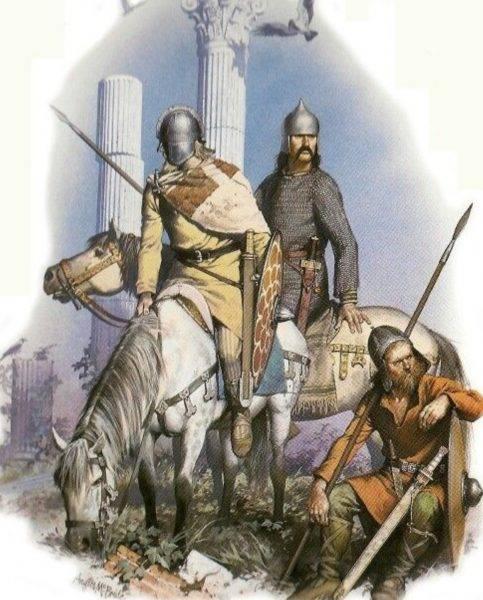 Mieszkali nad Wisłą również germańscy Goci.