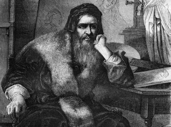 Leonardo uważał siebie za człowieka bez wykształcenia (uomo senza lettere), co mogło oznaczać po prostu brak dobrej znajomości łaciny.
