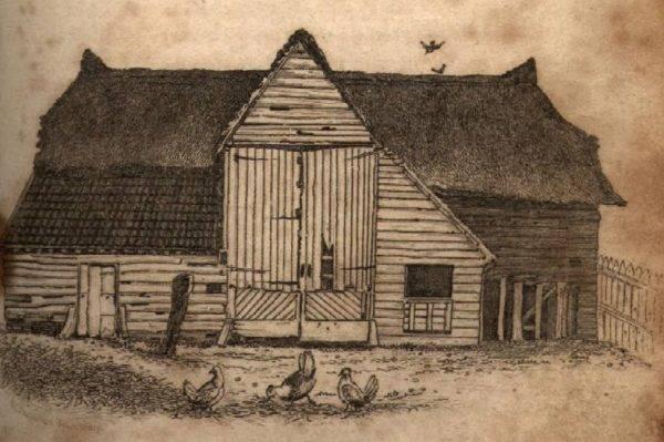 """Za miejscem spotkań posłużyła im lokalna stodoła nazywana przez mieszkańców Polstead w Suffolk """"Czerwoną"""". Skąd takie określenie? Od złudzenia optycznego."""
