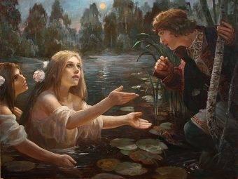 Kult żywiołów był u Słowian ściśle związany z kultem płodności.