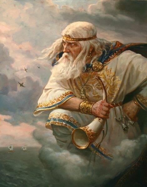 Patronem wiatru był Strzybóg, czyli ten, który jest łącznikiem między trzema światami.