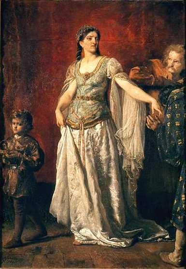 Rycheza wprawdzie nie wróciła z nim do Polski, ale wspierała syna, jak mogła.