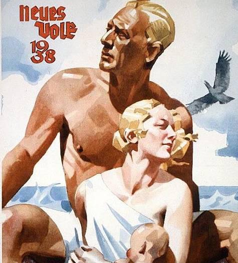 Idea pangermanizmu stała się elementem propagandy nazistowskiej.