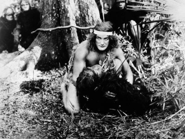 """Jednak w czasach, gdy ukazał się Tarzan, seria książek z """"królem małp"""" odniosła niebywały sukces. Pojawiali się naśladowcy i komiksy. Po postać Tarzana sięgnęło także Hollywood."""